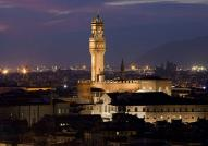 Night time in Florence