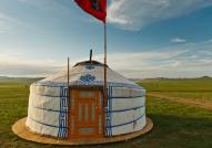 Traditional Ger in Mongolia