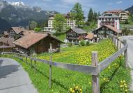 Resort village of Wengen