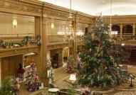 Lobby Christmas Tree Fairmont Hotel