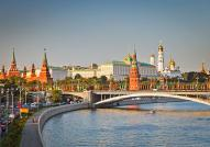Kremlin at Sunset in Moscow