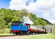 Lakeside & Haverthwaite steam train