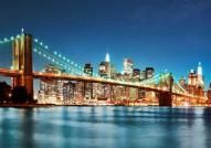 New York Night Bridge