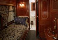 Accommodations on board the Royal Canadian Pacific