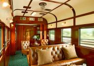 Rovos Rail Club Lounge Car