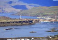 Dam in the Dalles
