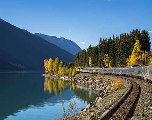 Trans Canada By Rail Featuring Via Rail S Prestige Class