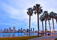 San Diego's beautiful skyline