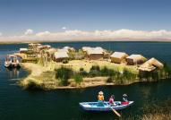 Uros Islands, Lake Titicaca