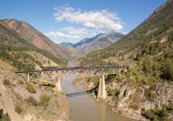 Rocky Mountaineer bridge crossing - photo by Rocky Mountaineer