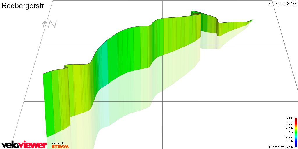 3D Elevation profile image for Rodbergerstr
