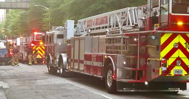 Fire at the Atlanta Marriott Marquis forces hotel guest and staff to evacuate