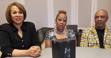 Attorney C.K. Hoffler (l) represents Regina and Michael Wynn in their lawsuit filed in Clayton County State Court