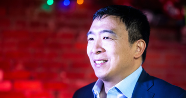 Presidential Candidate Andrew Yang talks Reparations and Universal Income with Robert Patillo
