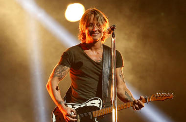 Keith Urban appears on the 52nd Annual CMA Awards