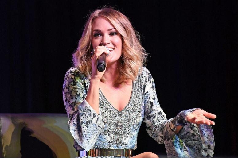 Watch Carrie Underwood Teases New Sunday Night Football Opening