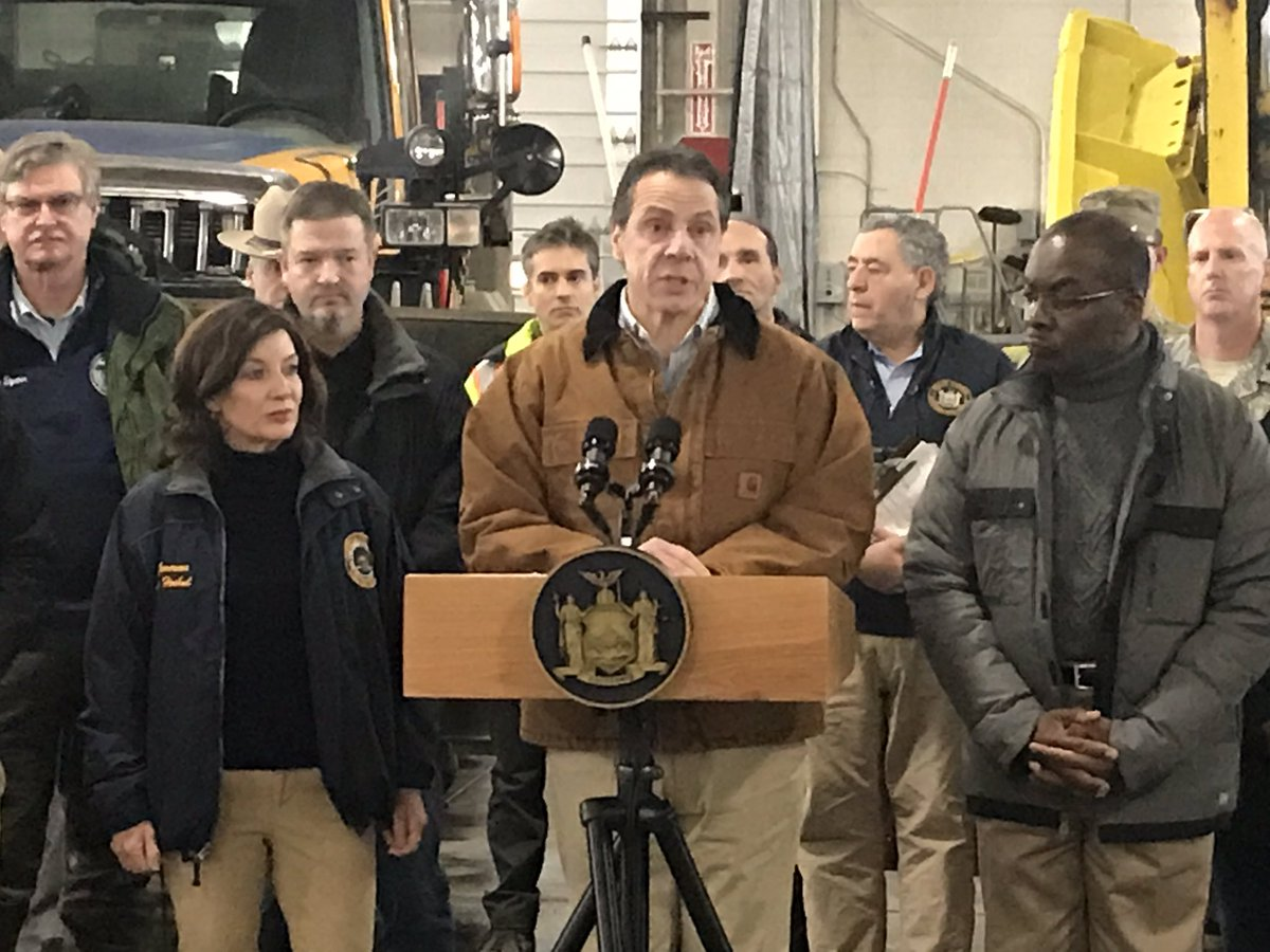 Cuomo warns of winter weather this weekend