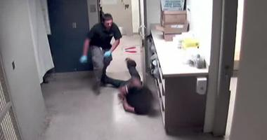 Shocking video released after suspect beaten at city lockup