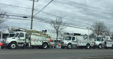 Utility Crews Preparing for Sunday's Winds