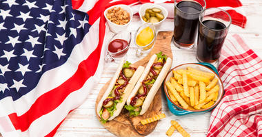 Hot Dogs and America