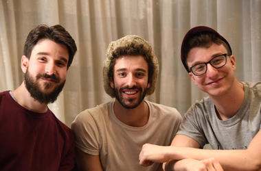 Adam Met, Jack Met, and Ryan Met of AJR
