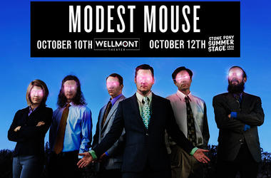 MODEST MOUSE @ WELLMONT/STONE PONY