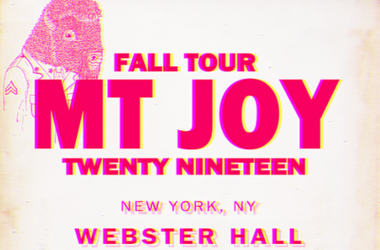 Mt Joy Tour 2019