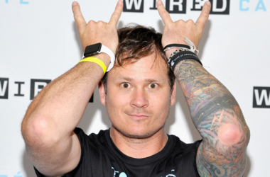 Musician Tom DeLonge attends WIRED Cafe at Comic Con 2015 in San Diego