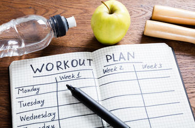 Make a workout plan