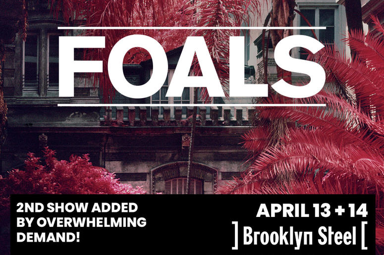 Foals at Brooklyn Steel 2019