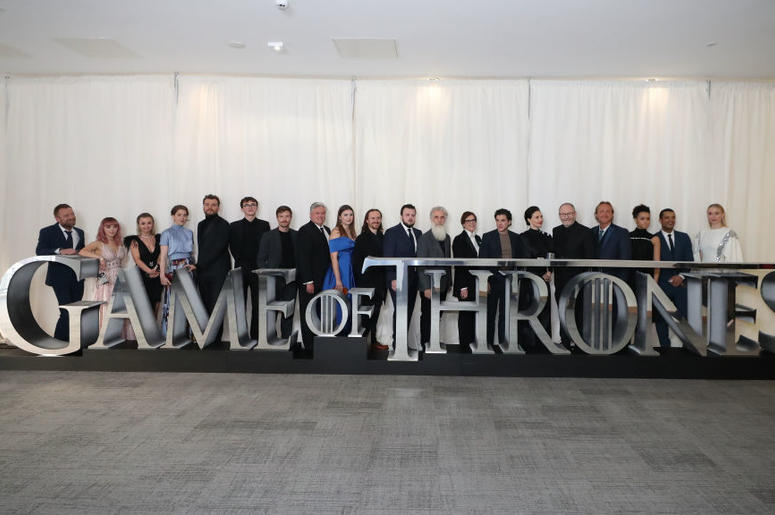 Game of Thrones Group Photo