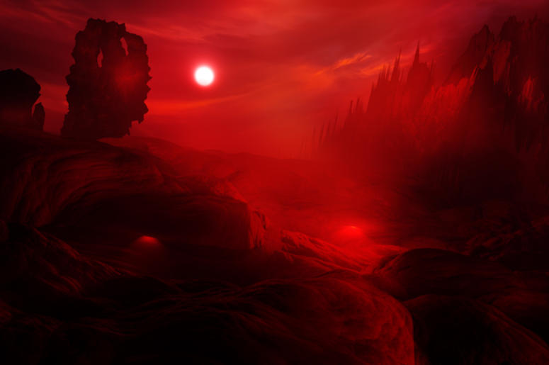 Hell Landscape