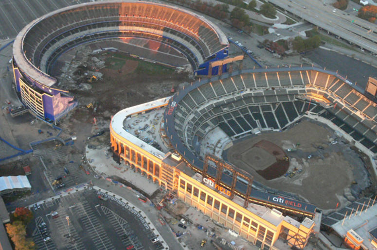 Shea Stadium and Citi Field