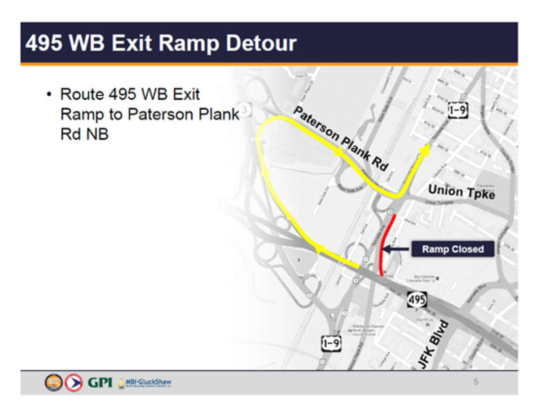 Route 495 Work