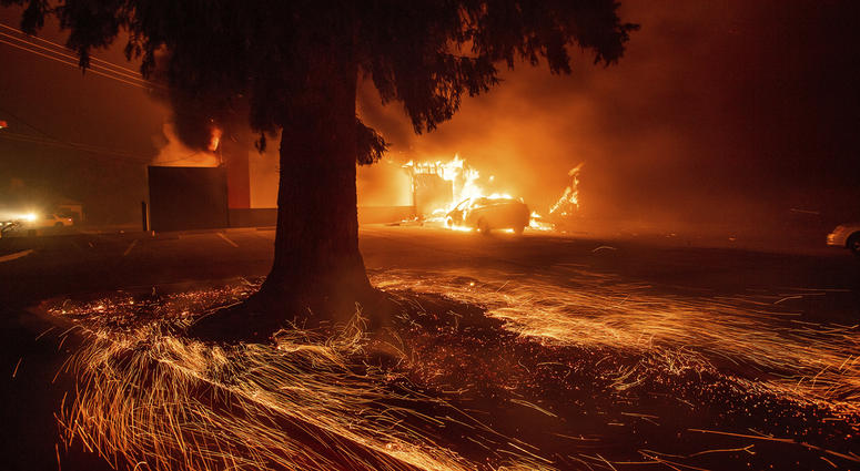 Northern California wildfire