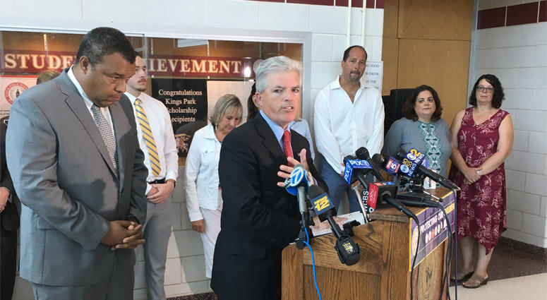 Steve Bellone At Active Shooter App News Conference