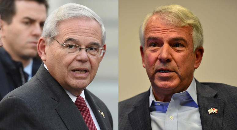 Bob Menendez and Bob Hugin