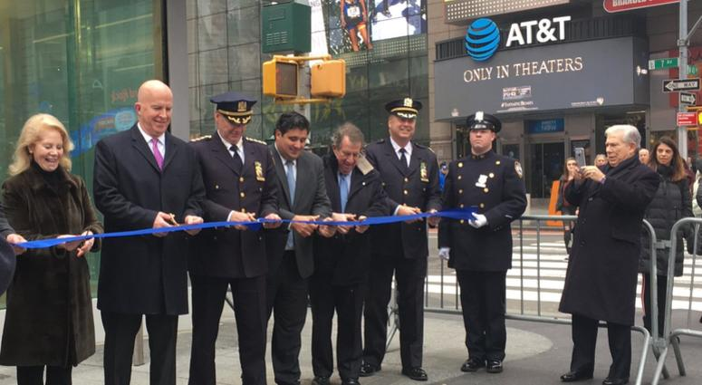 New Times Square NYPD Station