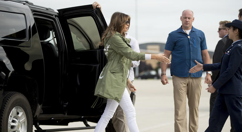 Melania Trump In Texas
