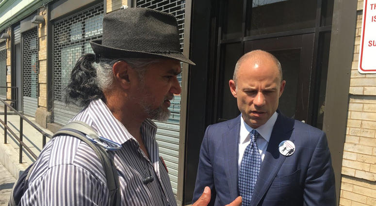 Michael Avenatti (right)
