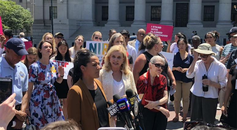 New York Democrats Abortion Rights Protest