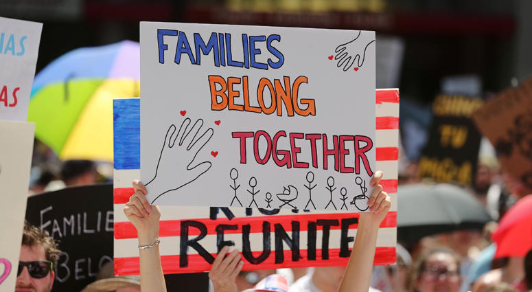 Families Belong Together Protest