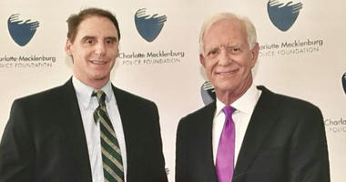 """Steve O'Brien and  Chesley """"Sully"""" Sullenberger"""
