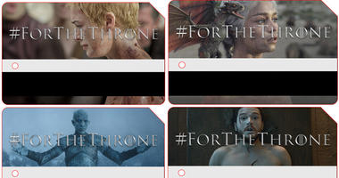 Game of Thrones MetroCards