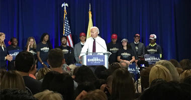 Joe Biden Campaigns For Mikie Sherrill
