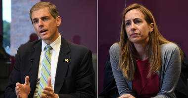 Jay Webber and Mikie Sherrill