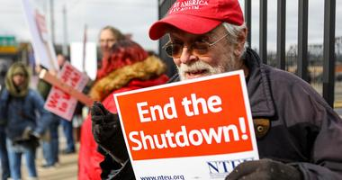 Federal Workers Protest Shutdown