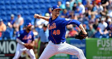 Cy Young Winner DeGrom Goes 1 Frame In Spring Debut For Mets