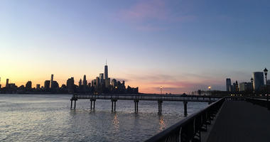 Hudson River from Hoboken