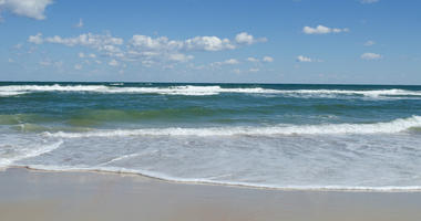 The beach and the Atlantic Ocean. File image.